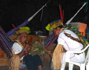 Yage ceremony in Colombia with Grandfather Taita Laureano and Taita Victoriano. Photo: F. Sammarco