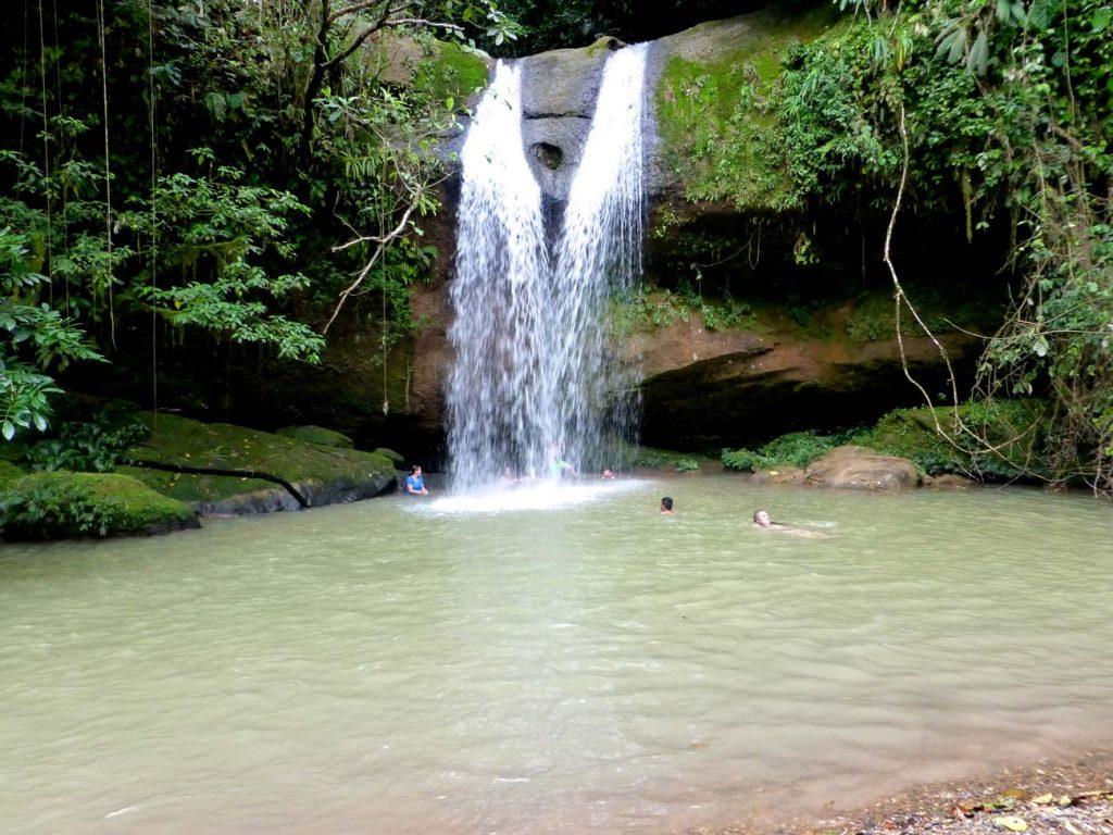 Breathtaking, secluded waterfall in Putumayo. Photo © El Mundo Magico