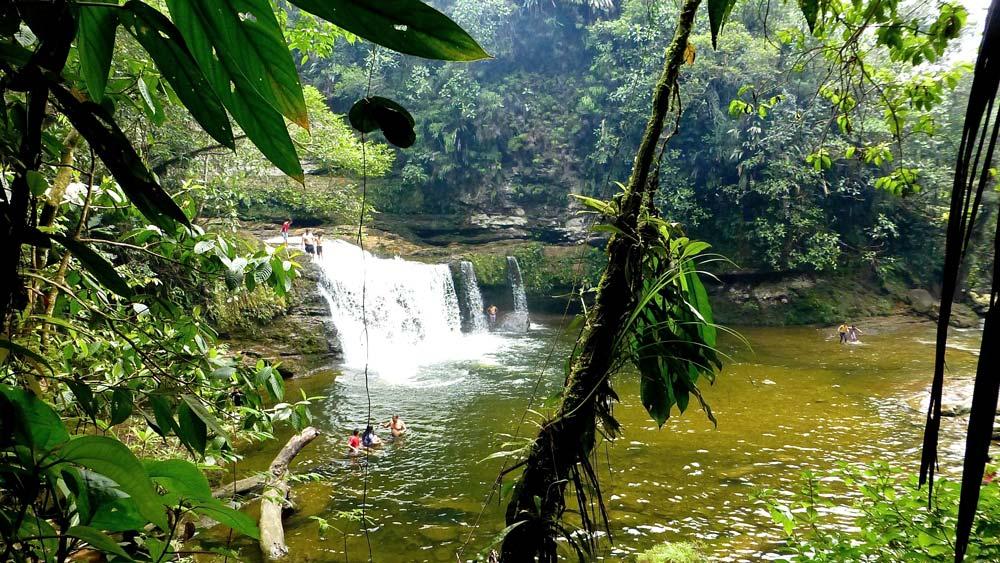 The enchanting Fin del Mundo Natural Reserve, Putumayo jungle. Photo © El Mundo Magico