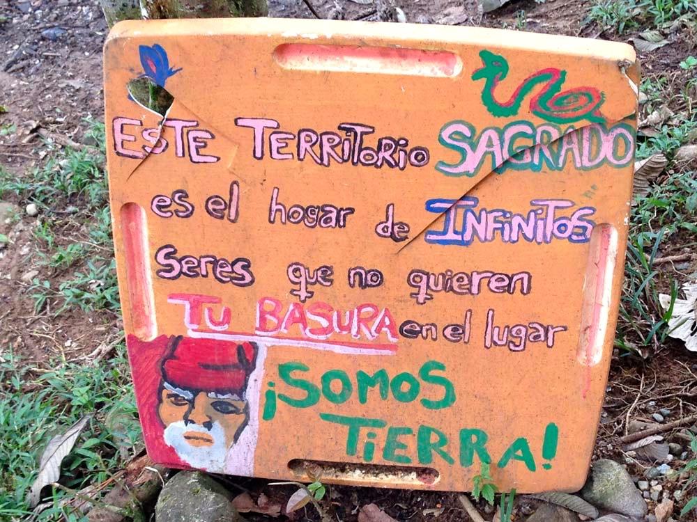 Fin del Mundo: sacred territory! Photo © El Mundo Magico