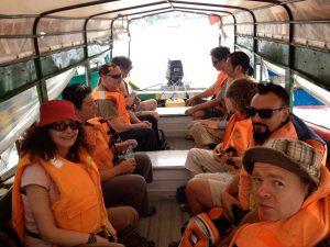 Amazon river boat trip! Photo © El Mundo Magico