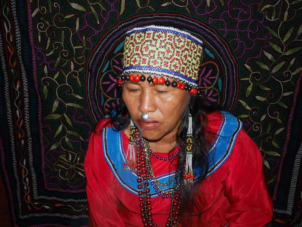 Traditional Shipibo Ayahuasca and San Pedro healer, Maestra Celia
