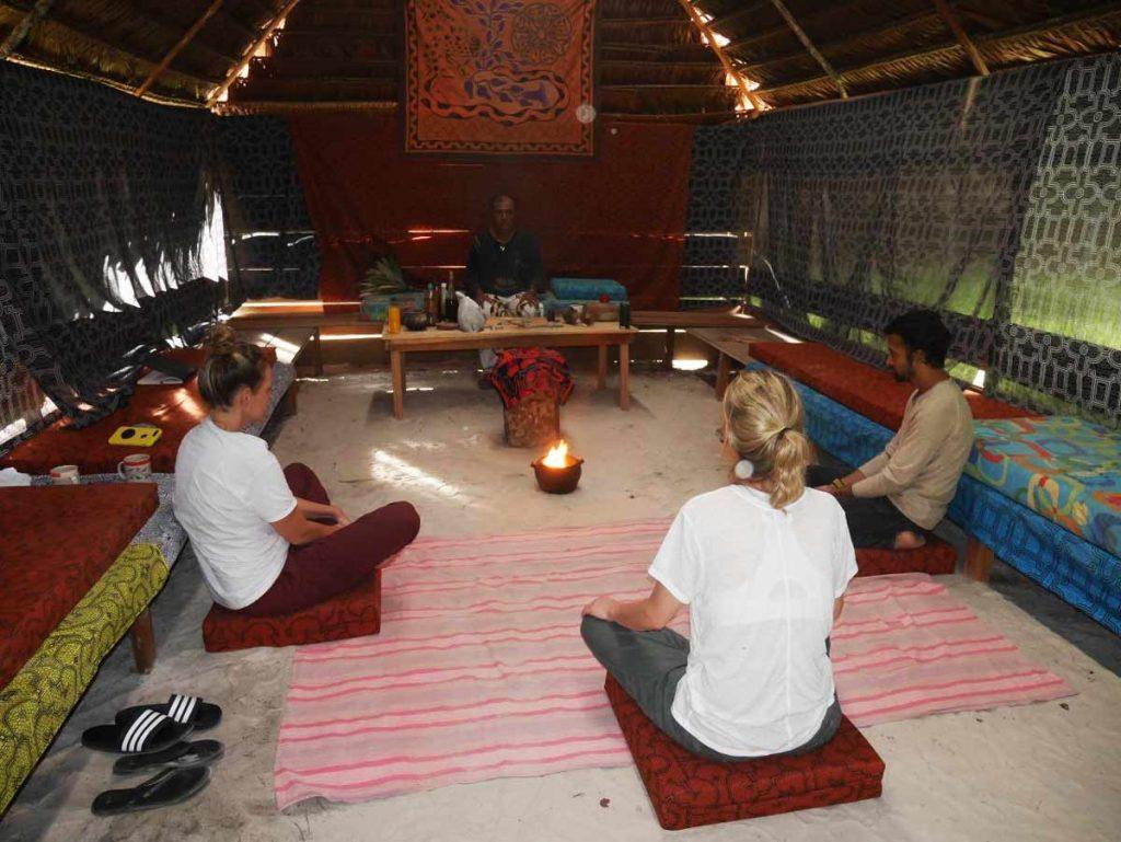 Fire meditation ritual