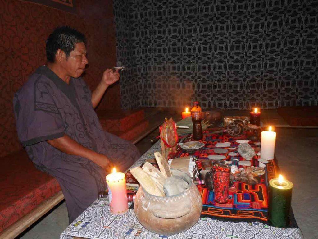 Ayahuasca ceremony with Don Armando