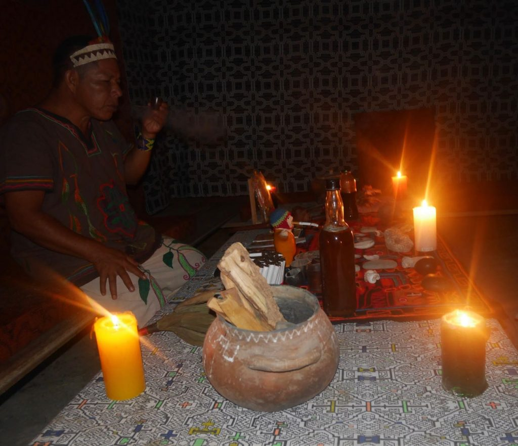 Ayahuasca ceremony with master shaman Don Armando in our centre in the Peruvian Amazon