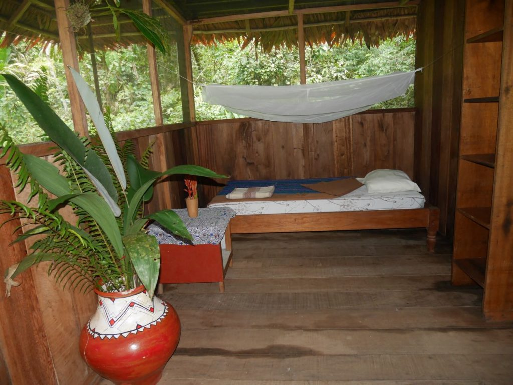 Comfortable single-occupancy bungalow in our retreat centre